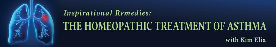 Inspirational remedies - asthma banner