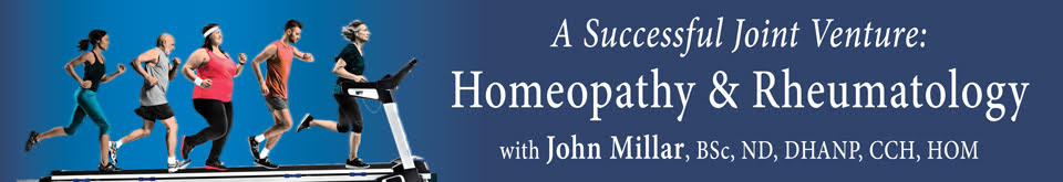 Homeopathy and reumatology banner